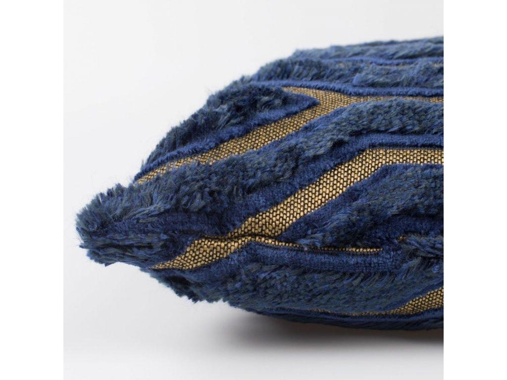 Modro zlatý polštář I Feel So Soft