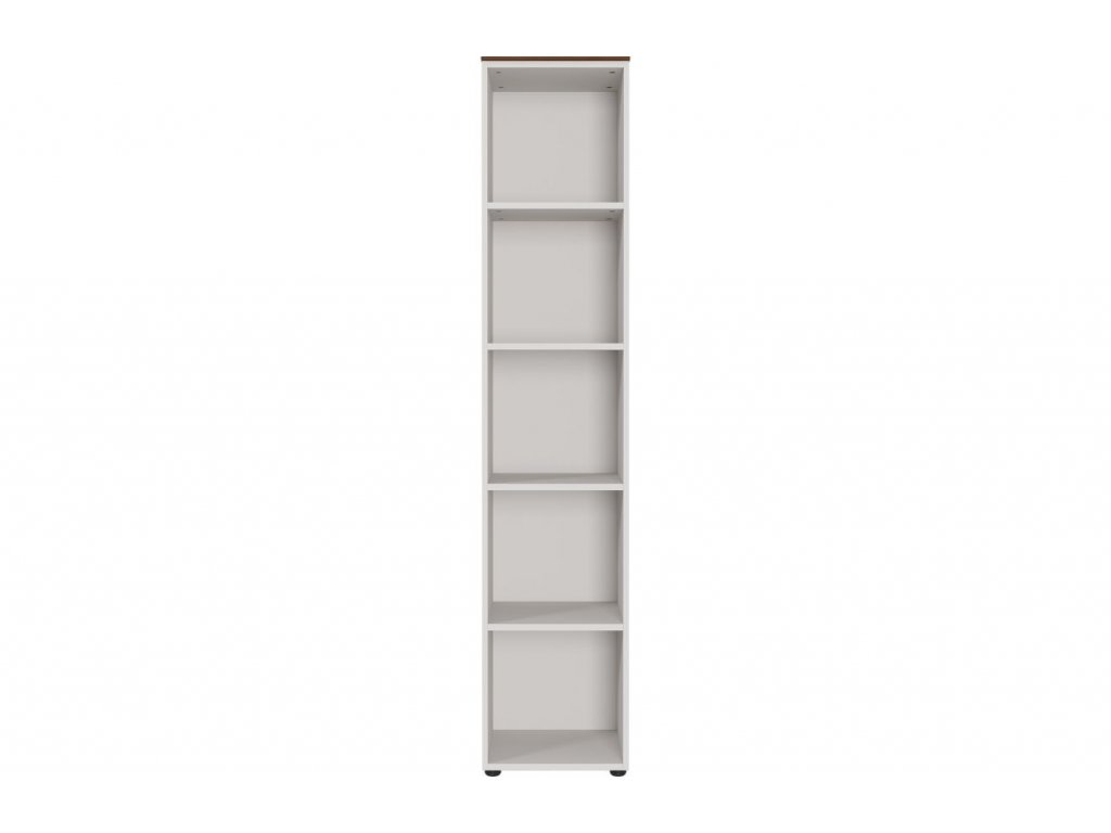 Bílý dřevěný regál 4227-573 GW-Ancona 40 x 41 cm