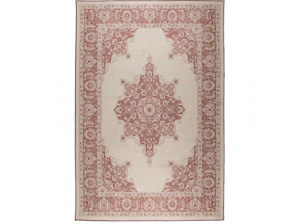 Červený koberec ZUIVER COVENTRY s orientálními vzory