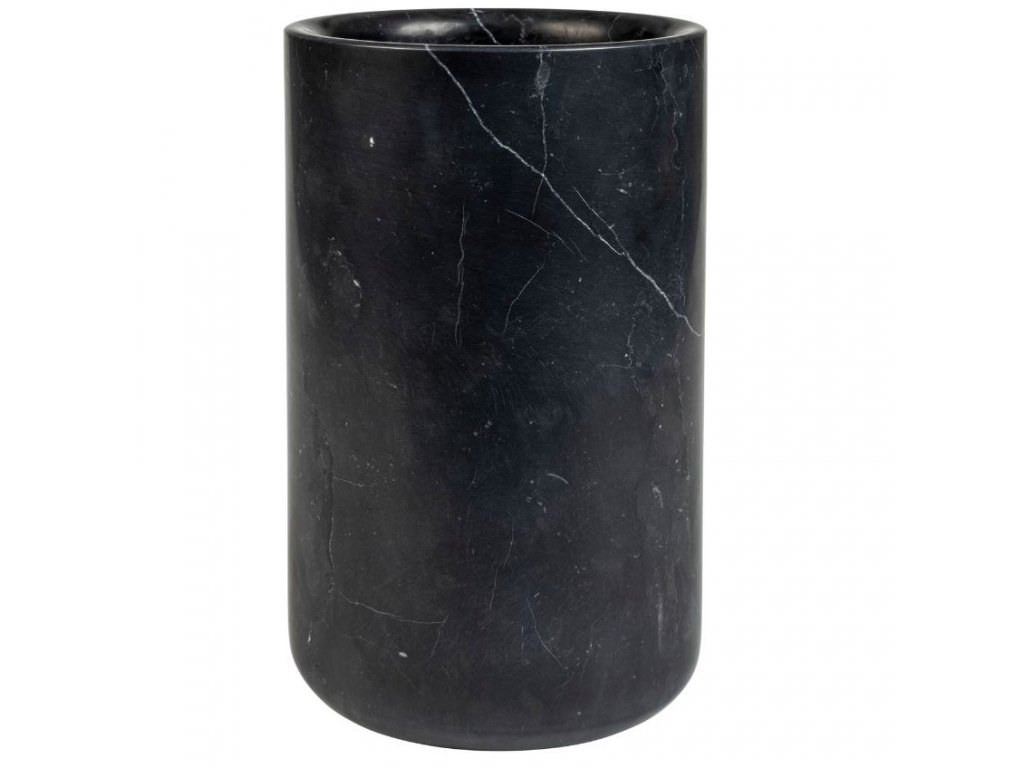 Černá mramorová váza ZUIVER FAJEN
