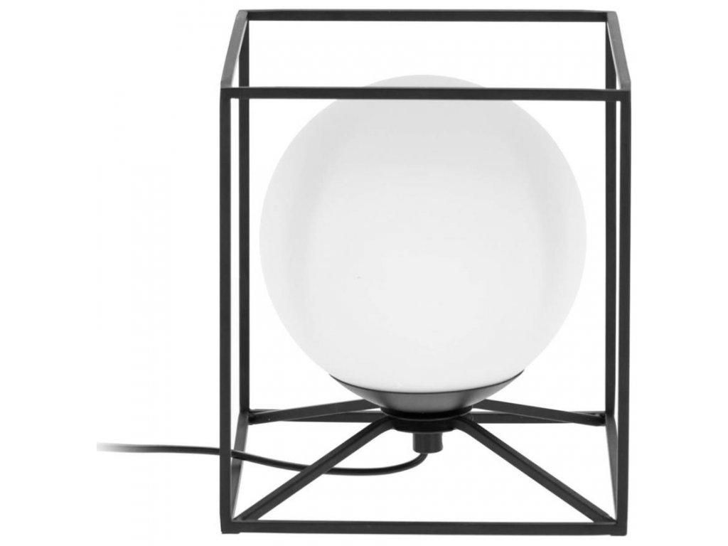 Černá kovová stolní lampa LaForma Tachi 20 cm