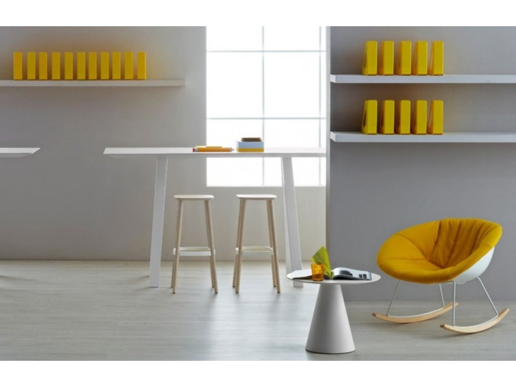 Bílá barová židle Babila 2706 75 cm