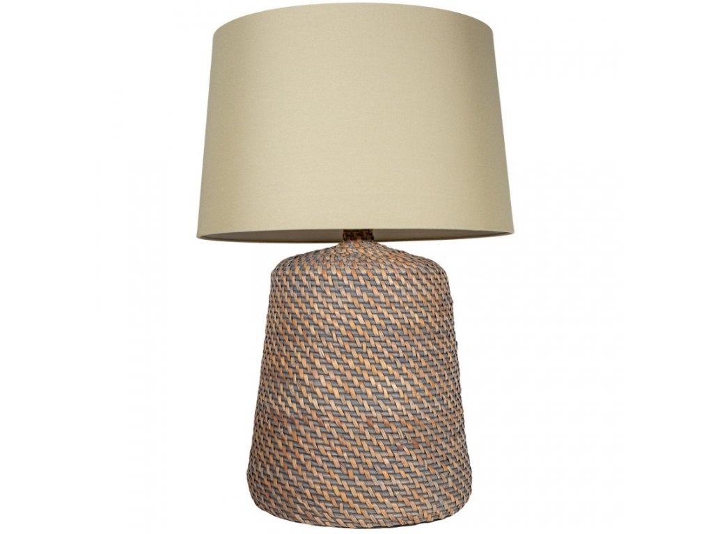 Béžová stolní lampa Ronda