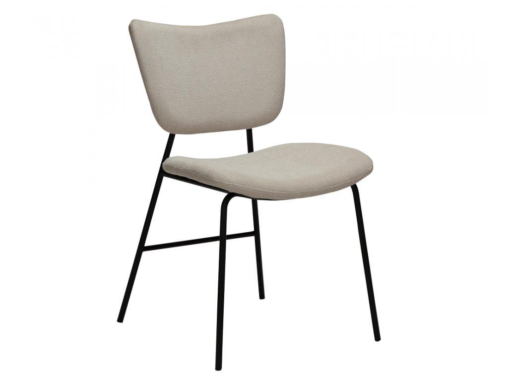 Béžová látková jídelní židle DanForm Thrill