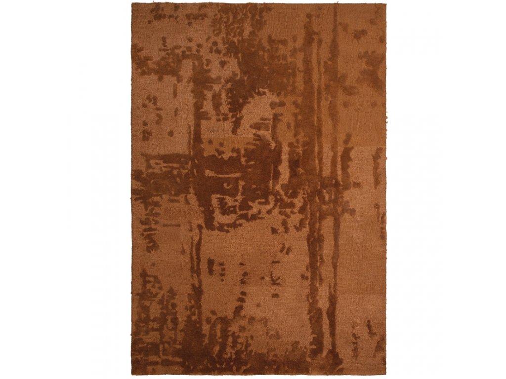 Kaštanově hnědý sametový koberec Michelle 170 x 240 cm848x848