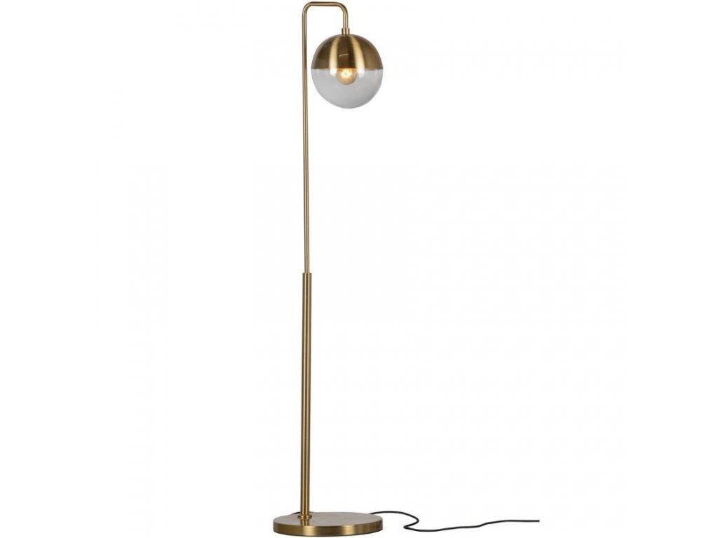 Mosazná kovová stojací lampa Aayush848x848