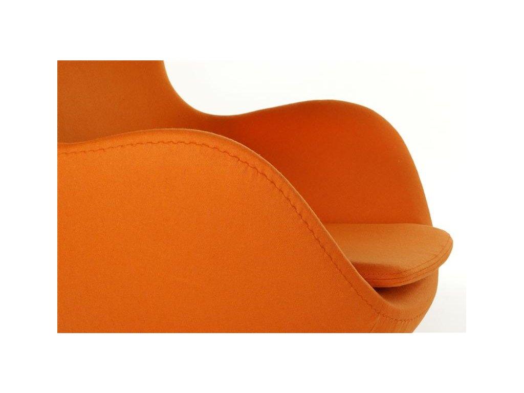 25785 1 kreslo egg kasmir oranzova