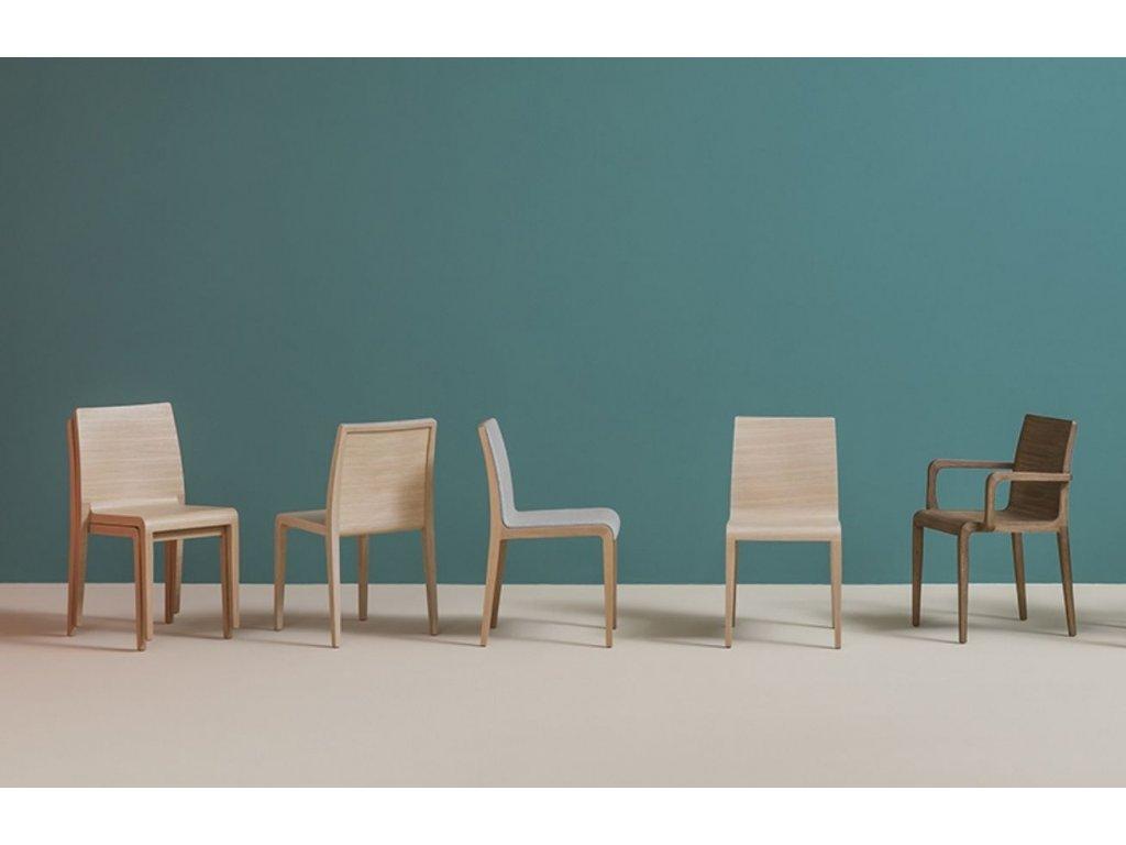 Dubová jídelní židle Young 420