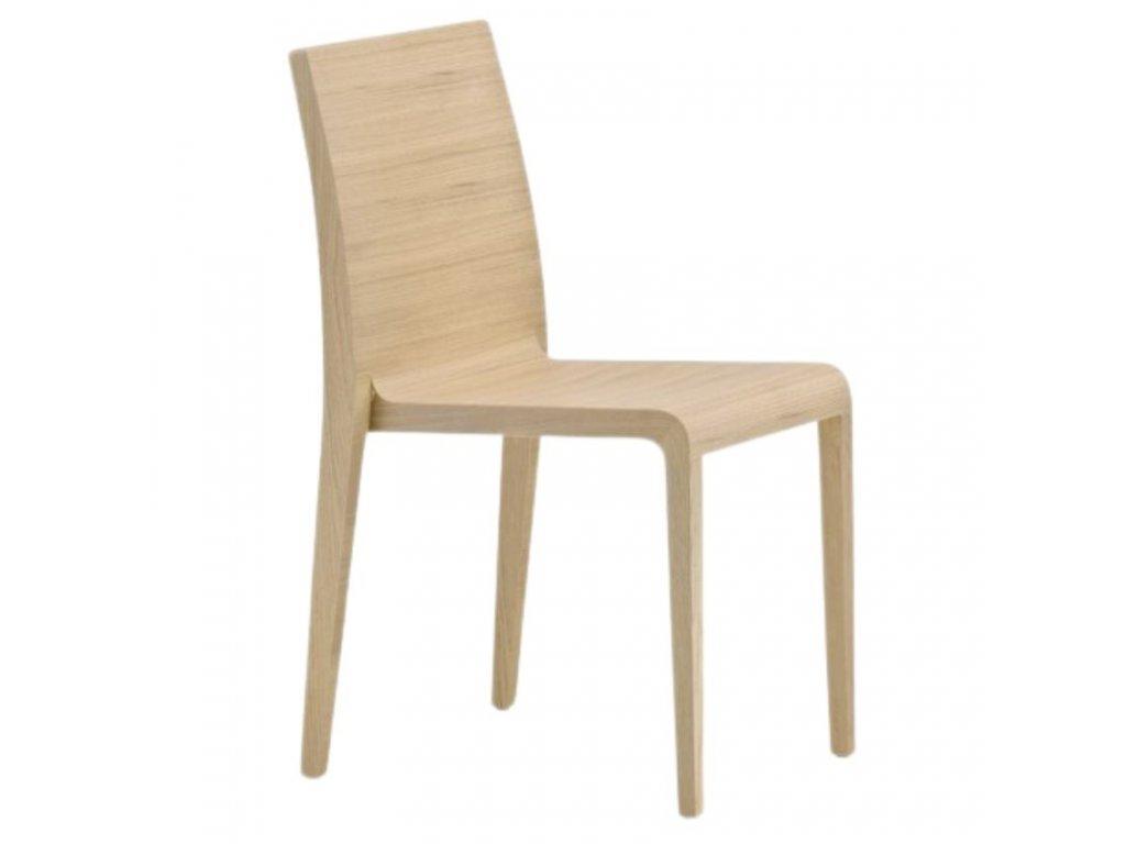 Moderní dřevěná židle Young 420