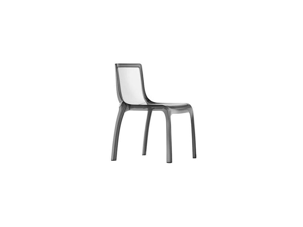 Luxusní plastová židle Miss you 610