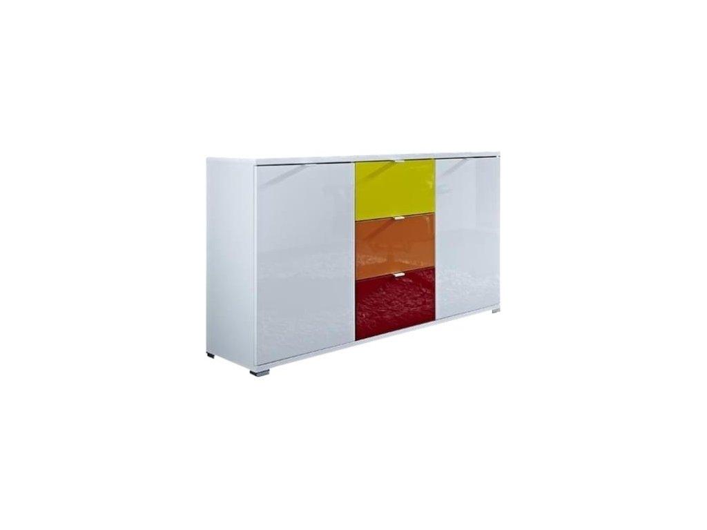 Komoda Germania Colorado 3455-84 144 x 40 cm, více barev
