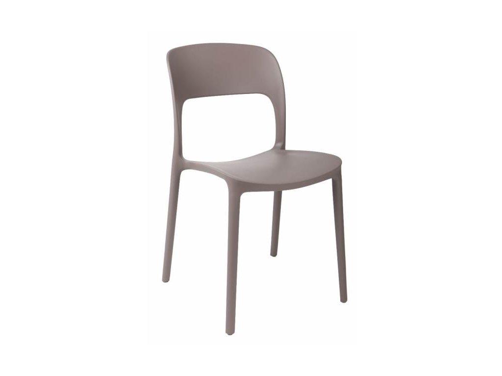 Plastová jídelní židle Lexi