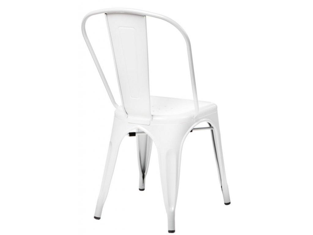 Jídelní židle Tolix 45, bílá