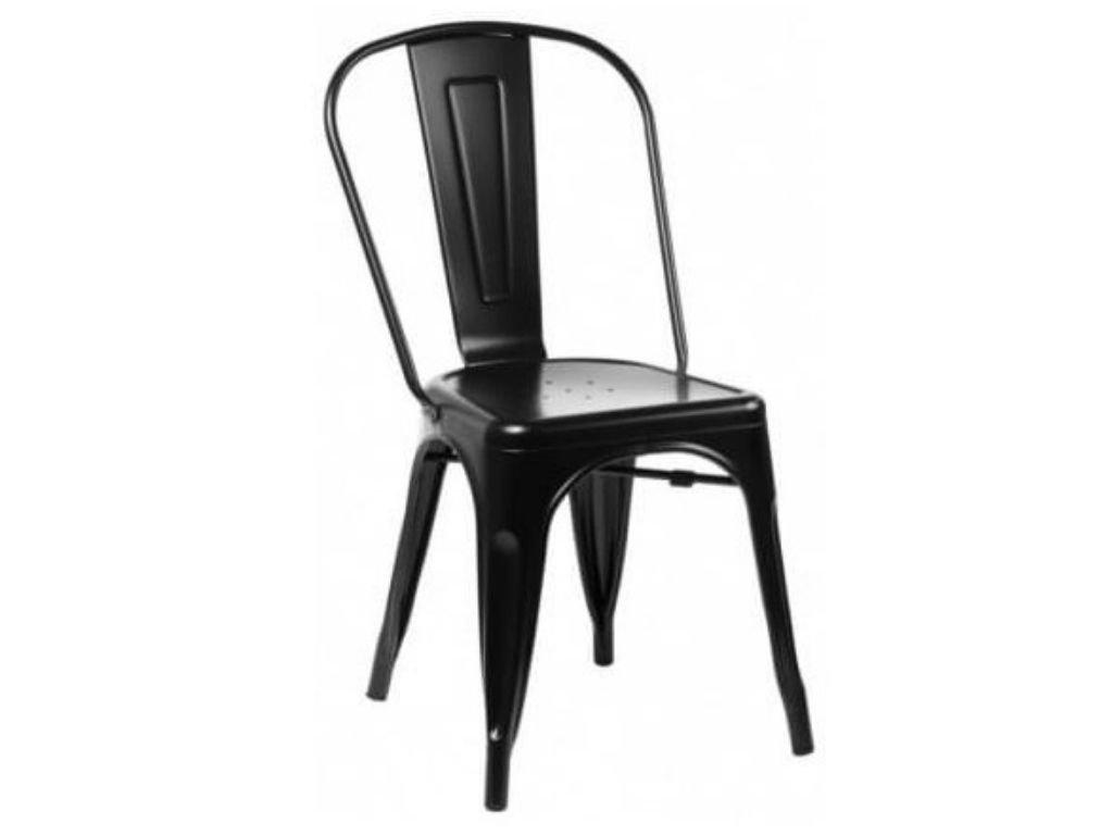 Jídelní židle Tolix 45, černá