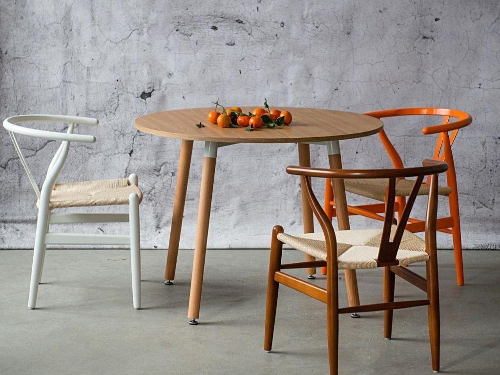 Dřevěná židle Bounce, bílá