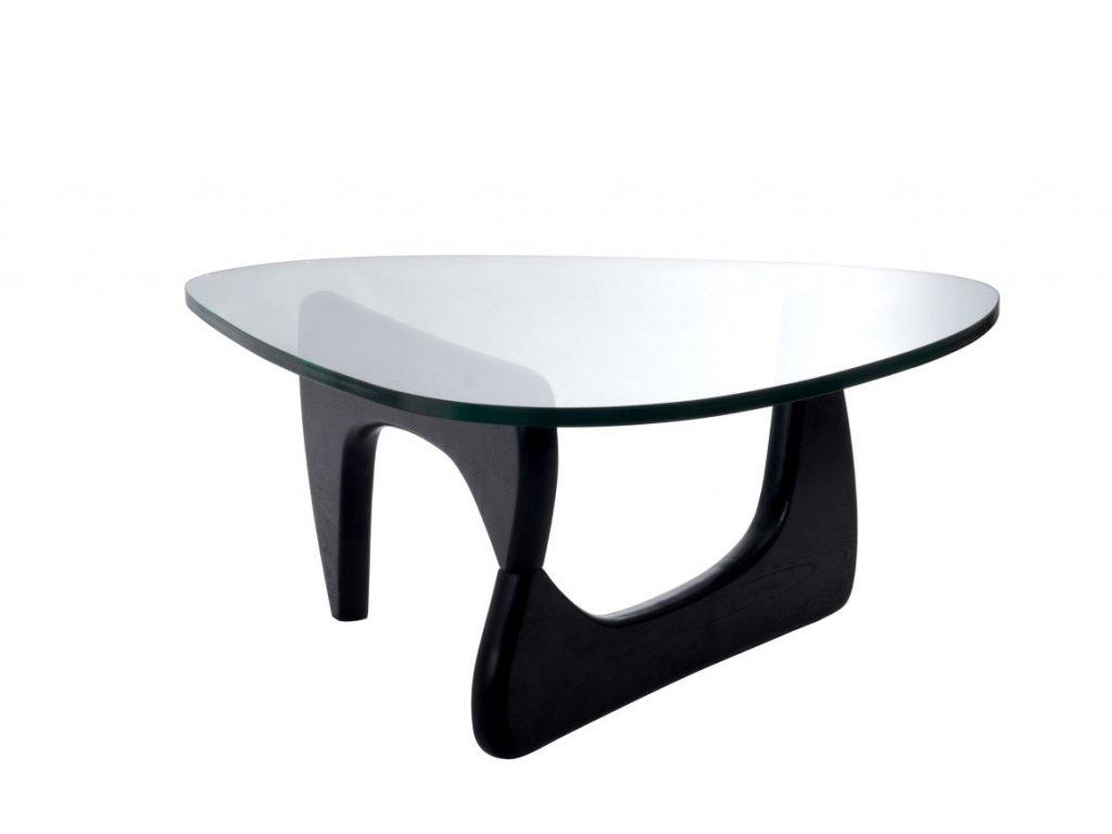 Designový konferenční stolek Milano, černá, 125 x 90 cm