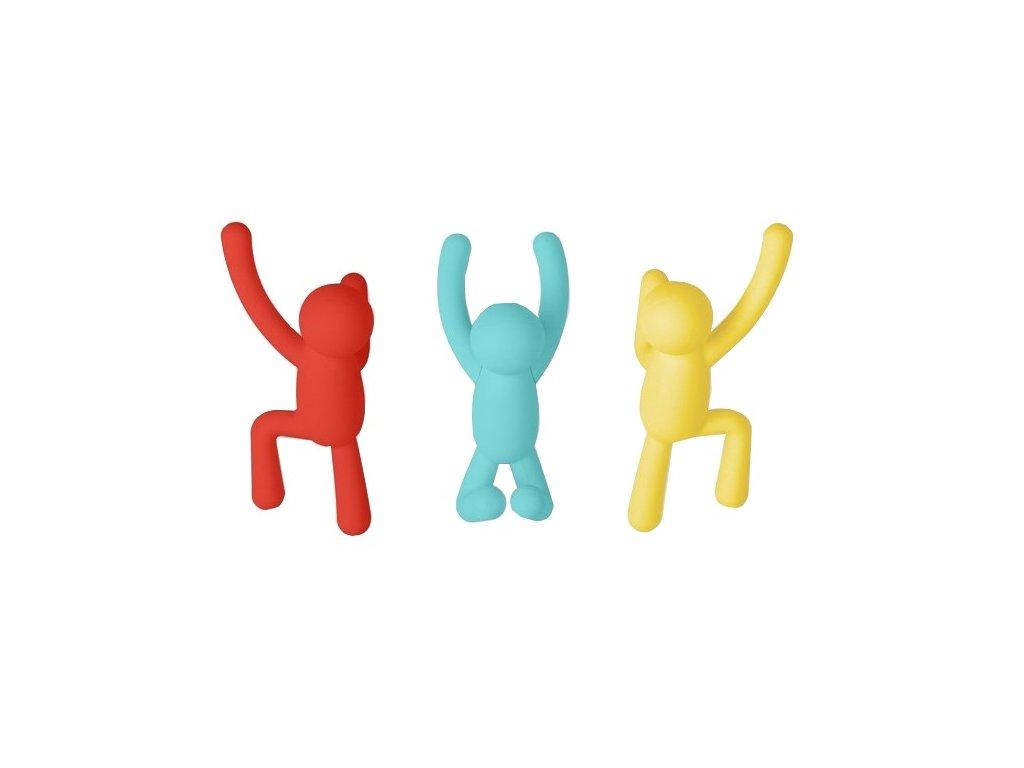 Věšák Kids v tříbarevném provedení II