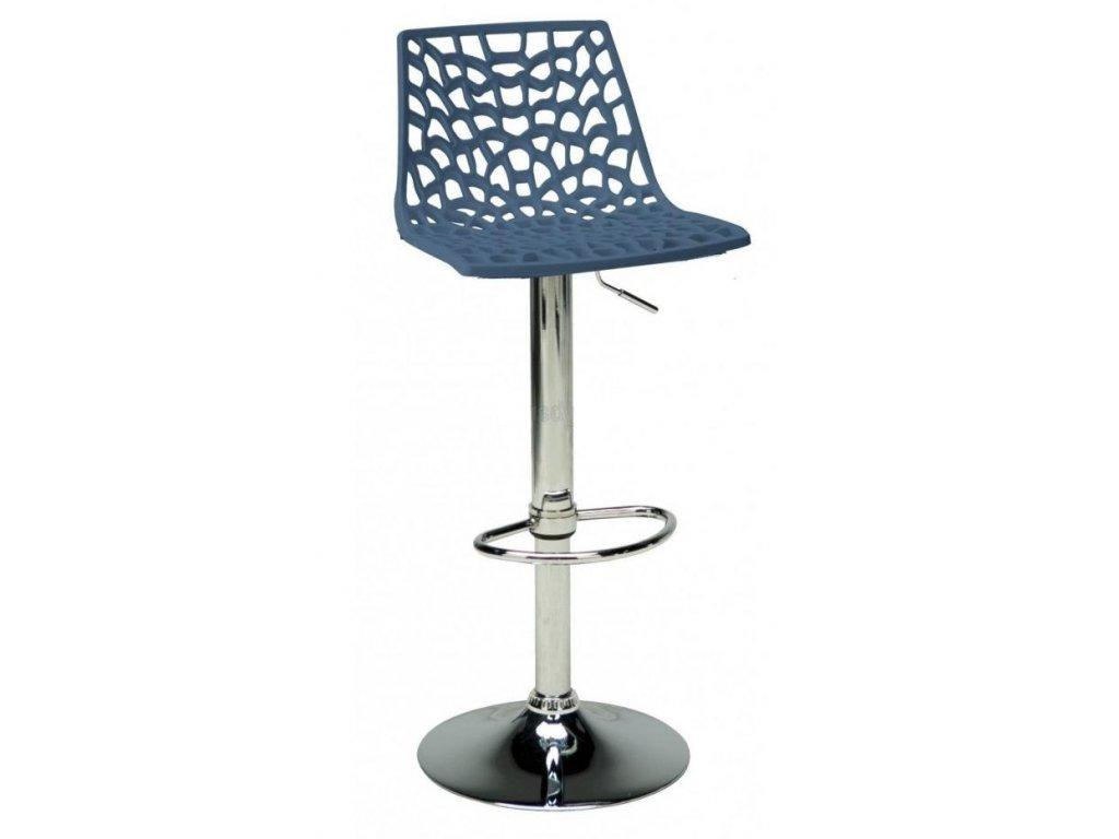 Barová židle Coral, modrá