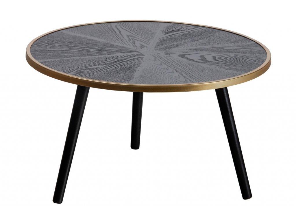 Dřevěný konferenční stolek Kole 60 cm