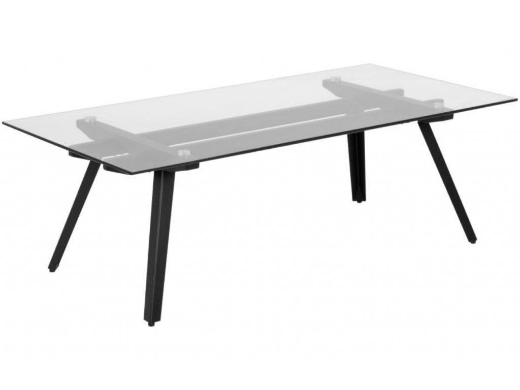 Skleněný konferenční stolek Mayland 120 cm