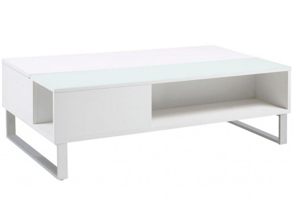 Bílý konferenční stolek Stor II 110 cm