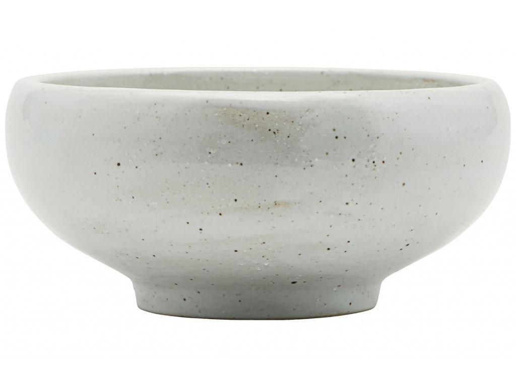 Slonovinově bílá porcelánová miska Made Ø 19 cm
