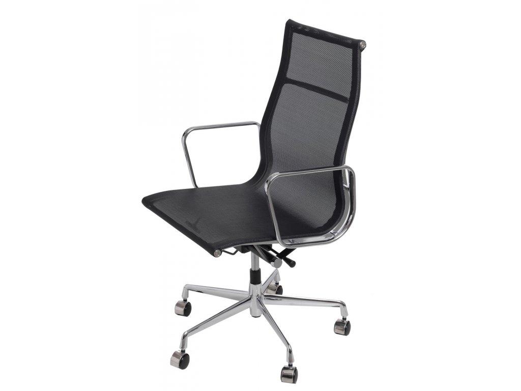 Kancelářské křeslo Aluminium Group 119, černá