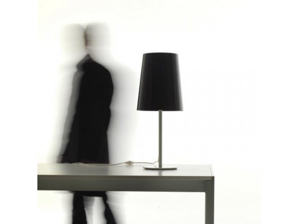 Bílá stolní lampa Pedrali L001TA/A