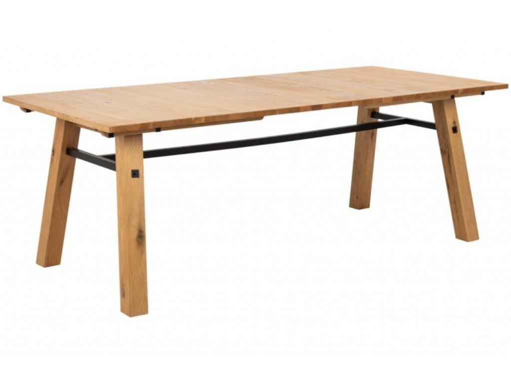 Přírodní dubový jídelní stůl Kiruna 210 cm