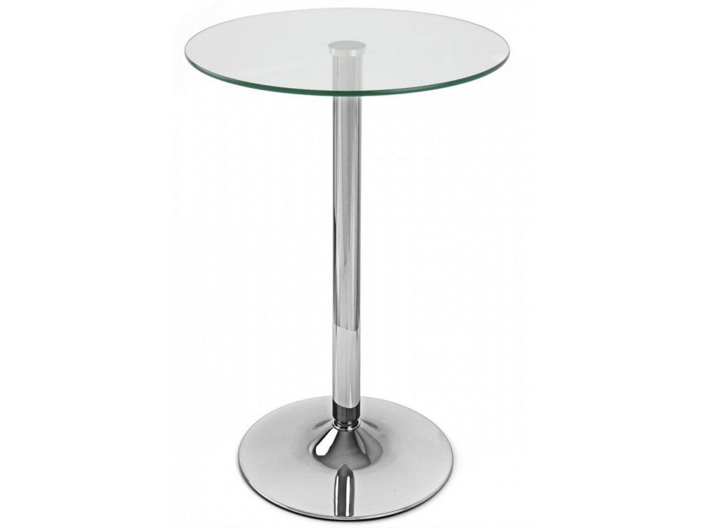 Skleněný barový stůl Organic 70 cm