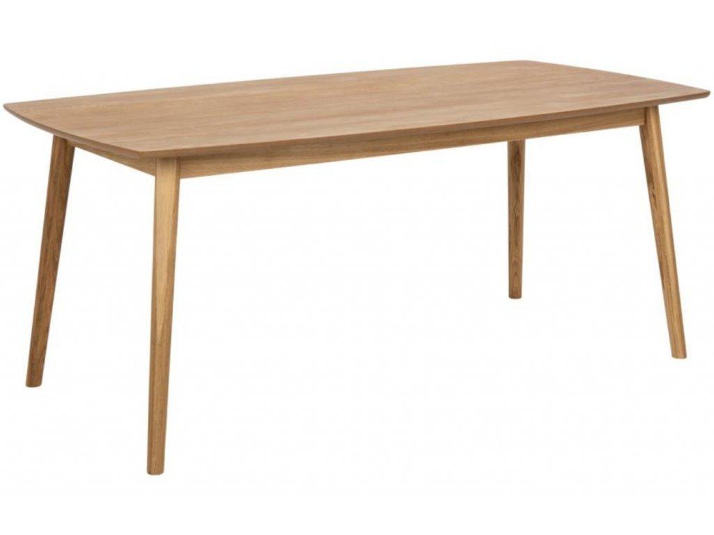 Přírodní dubový jídelní stůl Nagy 180 cm