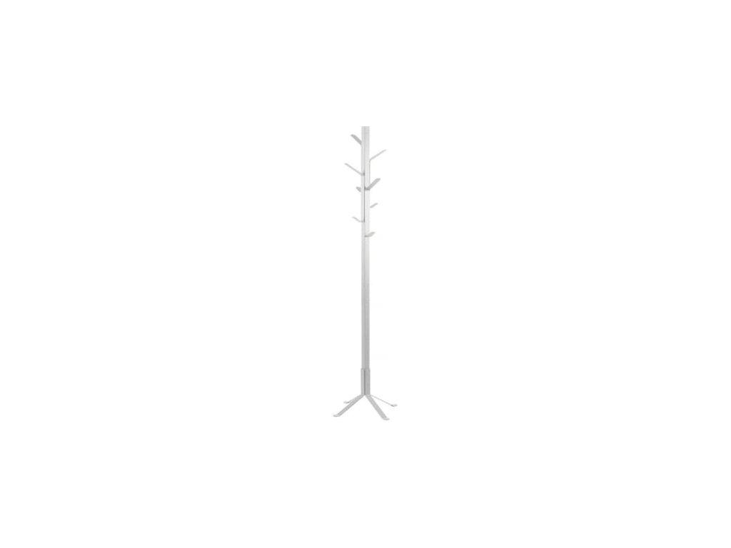 Věšák Limby 180 cm, kov, bílá