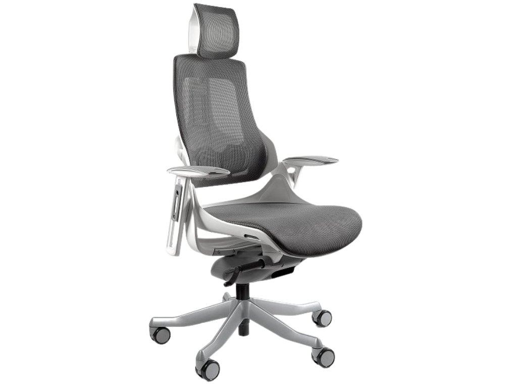 Černá designová kancelářská židle Master A03