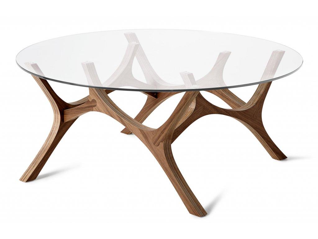 Konferenční stolek Tabanda Moose 99 cm, ořech