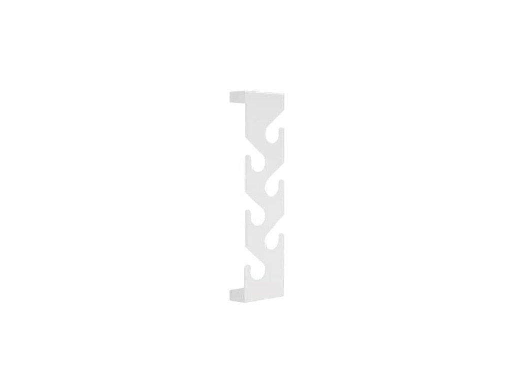Designový bílý lakovaný věšák Montoro