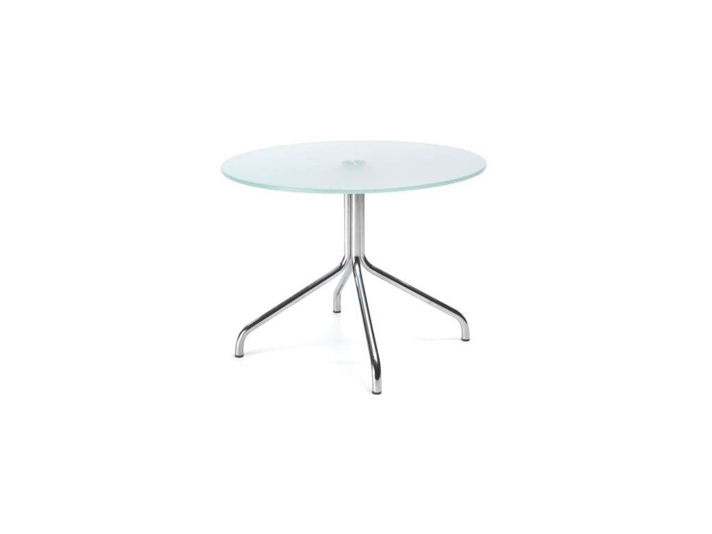 Skleněný konferenční stolek H40 60 cm