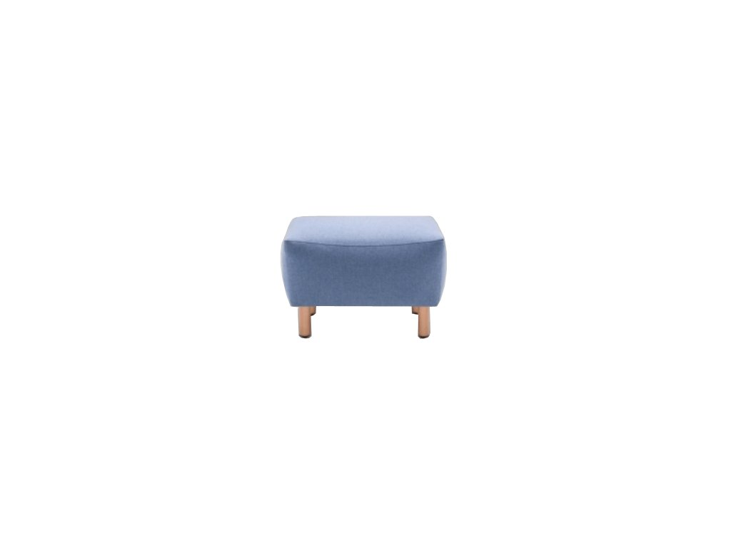 Bledě modrá podnožka MARBET LUNGO