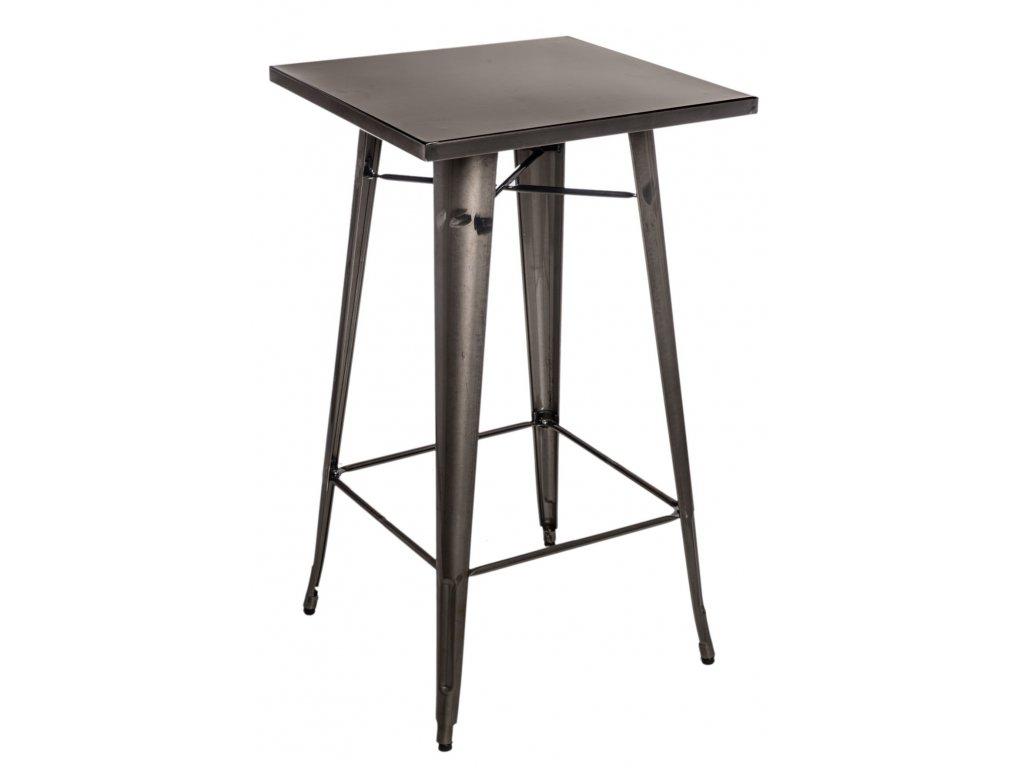 Stylový industriální barový stůl z kvalitního kovu