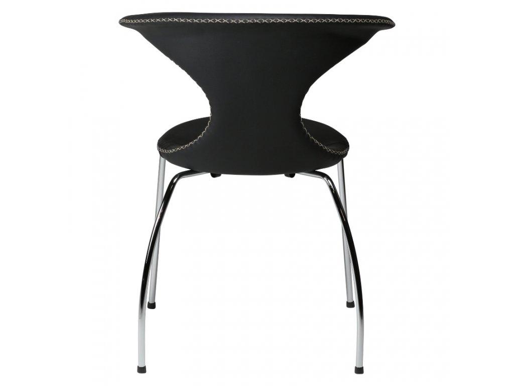 Černá jídelní židle DanForm Flair