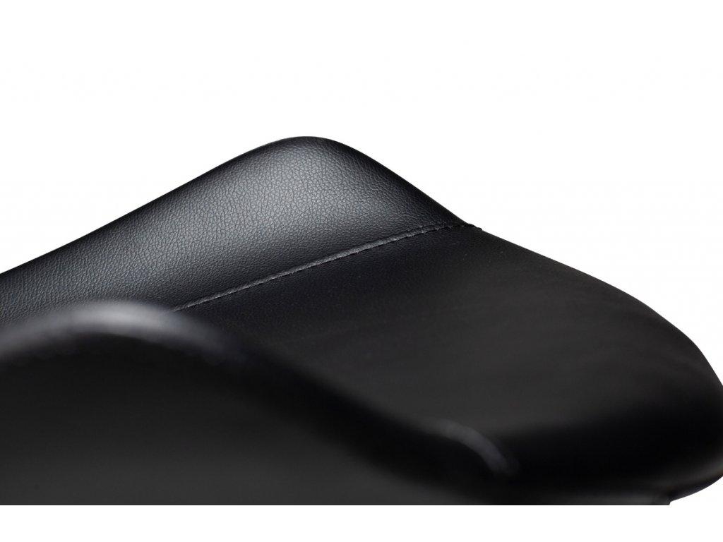 Černá koženková židle DanForm Hype