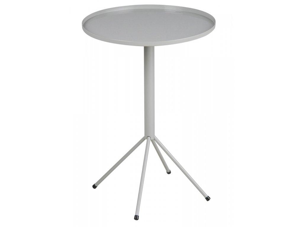 Odkládací stolek Silva, kov, šedá