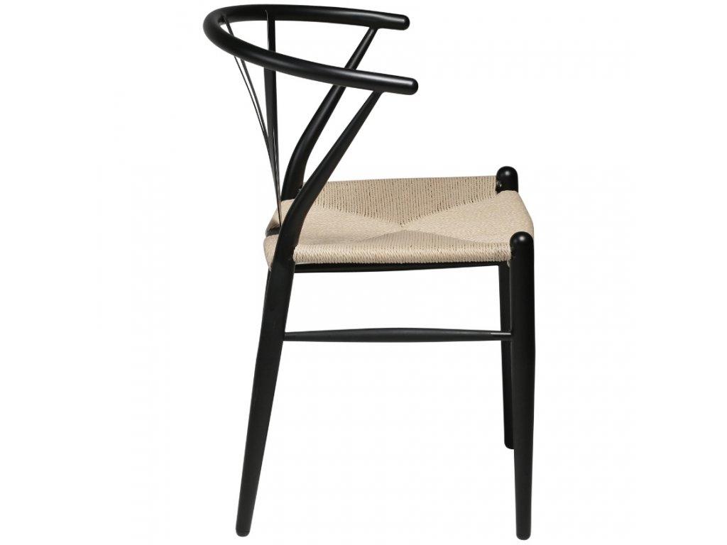 Černá židle DanForm Delta