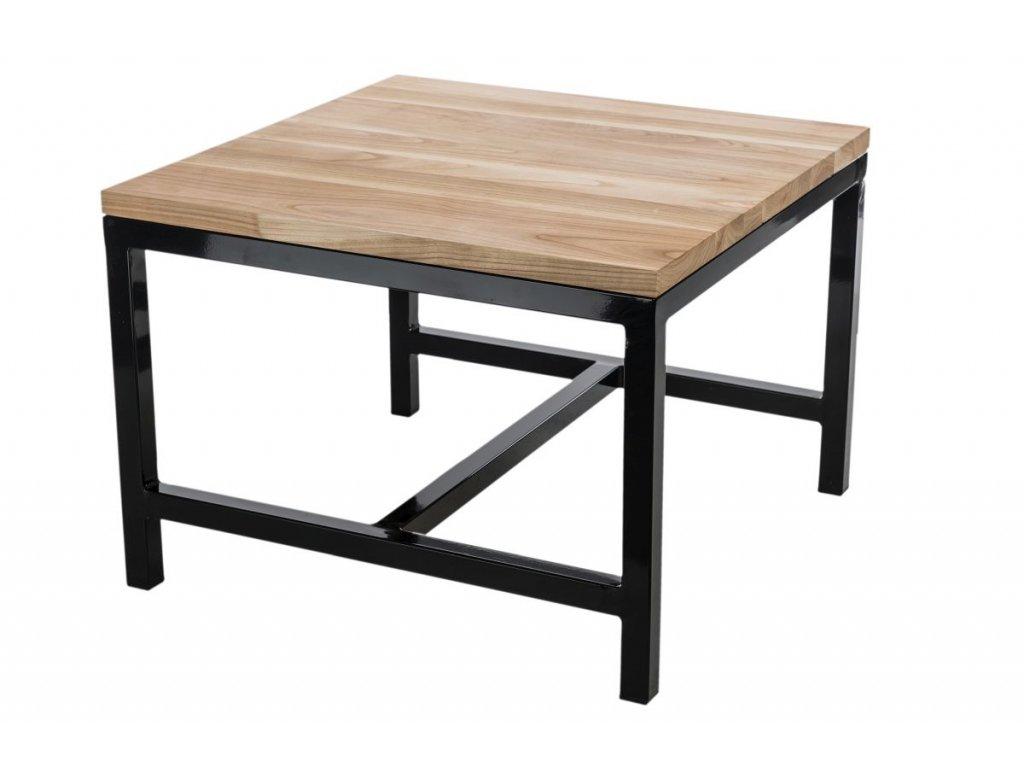 Konferenční stolek Flux 60x60 cm, jasný dub