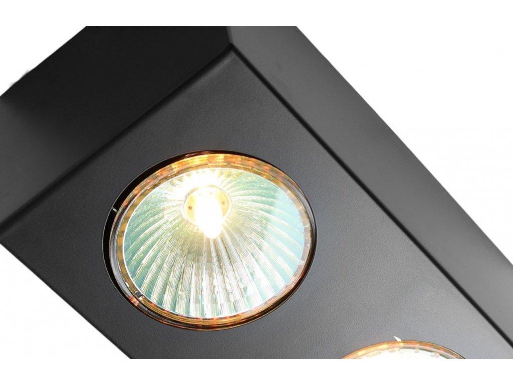 Černé bodové světlo Glosse 2