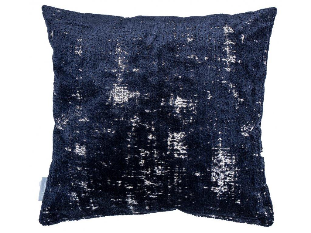 Tmavě modrý polštář ZUIVER SARONA