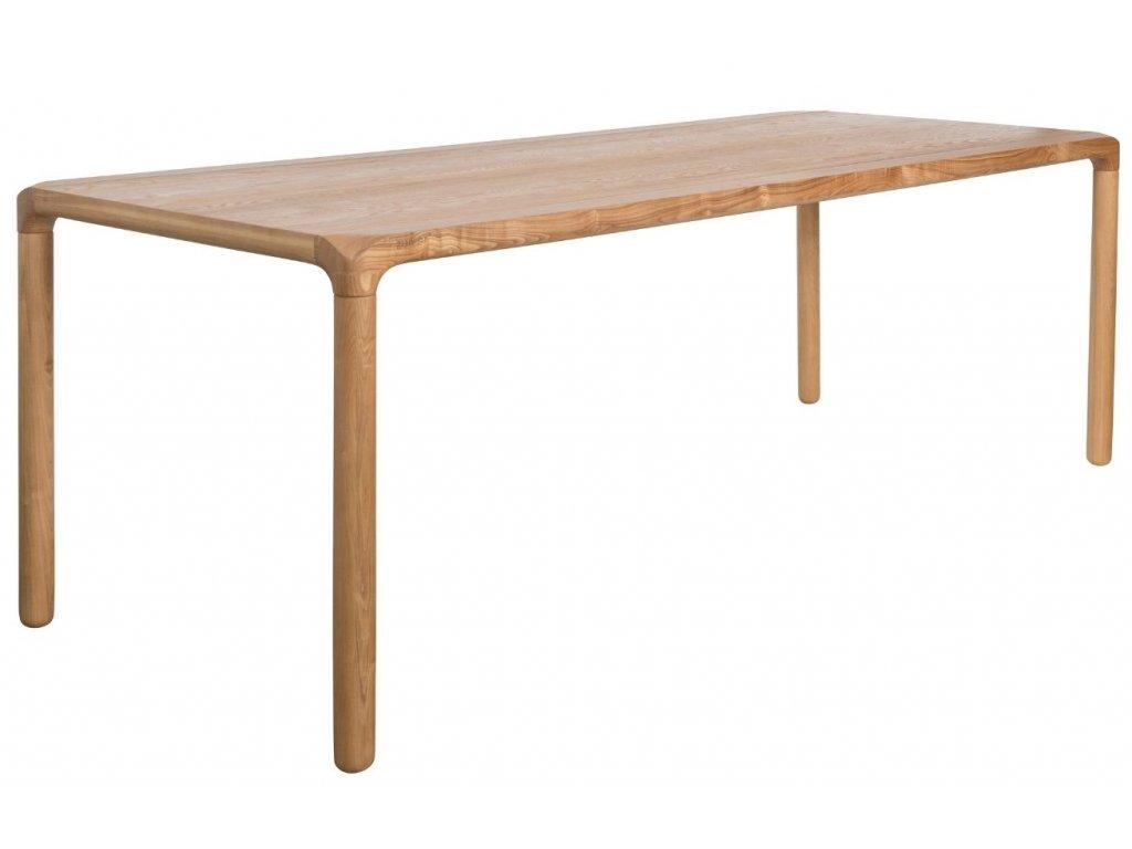 Jasanový jídelní stůl ZUIVER STORM 180x90 cm
