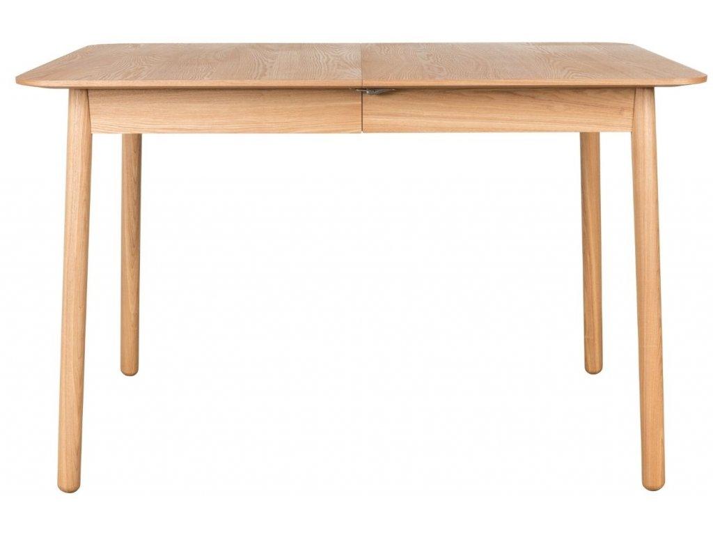 Přírodní rozkládací jídelní stůl ZUIVER GLIMPS 120/162x80 cm
