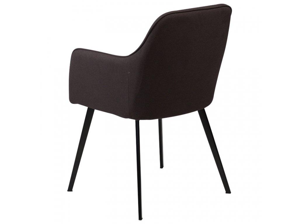 Černá látková židle DanForm Embrace