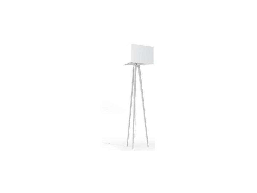 Stojací lampa LF 27, bílá podnož
