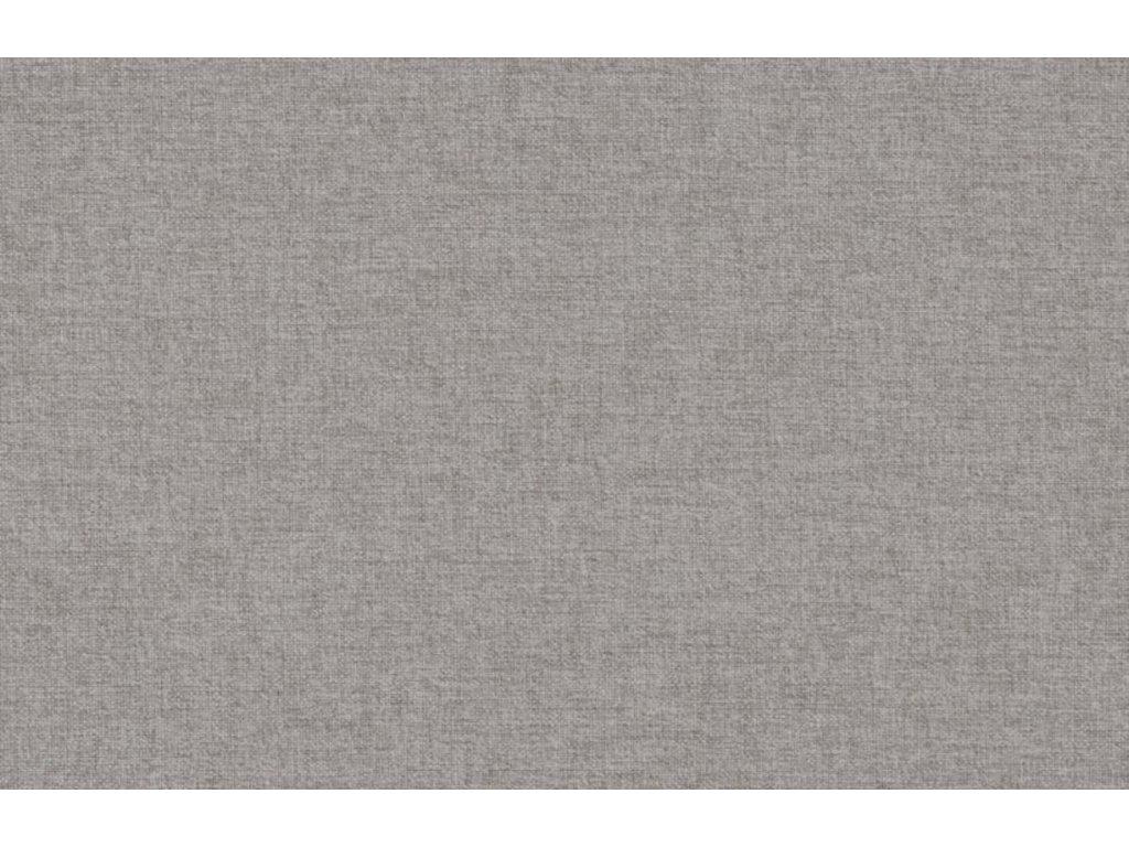 Pohovka Scandia 231 cm, látka, světle šedá/dub